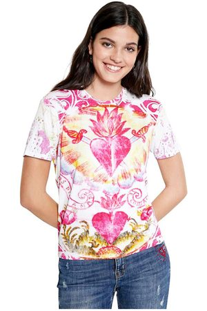 Desigual T-shirt , Mujer, Talla: M