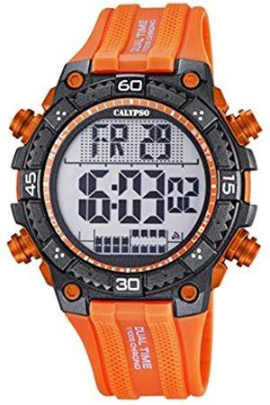 Calypso Watches Reloj Digital para Hombre de Cuarzo con Correa en Caucho K5701_1