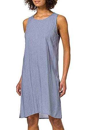 Blue Seven Damen Alloverdruck Kleid, U-Boot-Ausschnitt Vestido