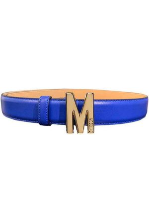 Moschino Belt with small letter , Mujer, Talla: 42 IT