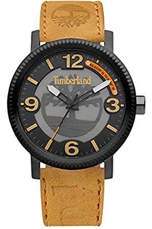 Timberland Reloj Analógico para Hombre de Cuarzo con Correa en Cuero TDWGA2101501