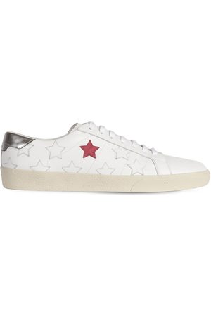 Saint Laurent | Hombre Sneakers De Piel Con Estrellas 39