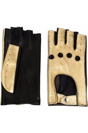 Manokhi Mujer Guantes - Metallic-effect gloves