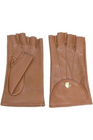 Manokhi Fingerless leather gloves