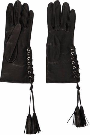 Manokhi Lace-up detail gloves
