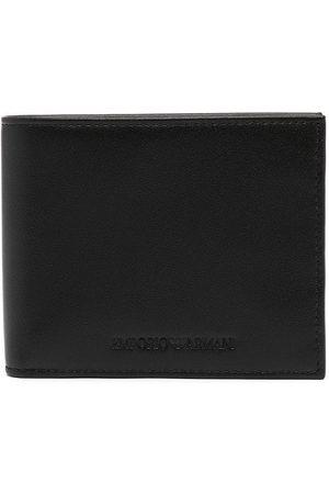 Emporio Armani Embossed-logo wallet