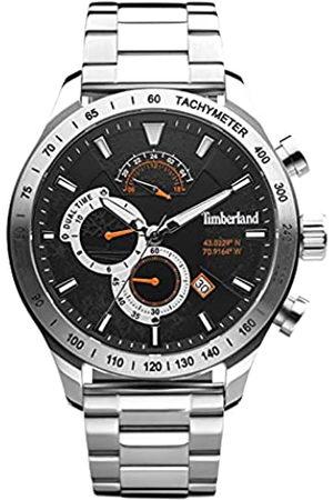 Timberland Reloj Analógico para Hombre de Cuarzo con Correa en Acero Inoxidable TDWGK2100204