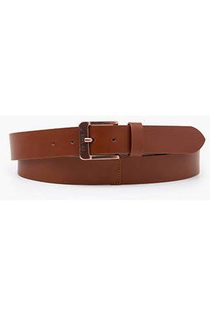 Levi's Cinturón Free con hebilla metálica / Brown