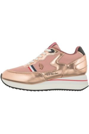 US Polo Scarpe sneakers running Livy in ecopelle/ mesh Ds 21Up 01 , Mujer, Talla: 41