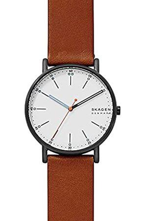 Skagen Reloj Analogico para Hombre de Cuarzo con Correa en Piel SKW6374