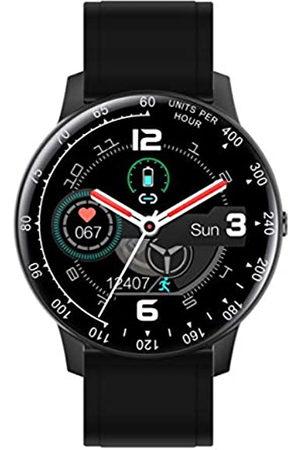 Radiant Reloj Smart de . Colección Times Square. Reloj con Correa de Silicona Negra y Brazalete de Acero. IP67. 44mm. Referencia RAS20401.