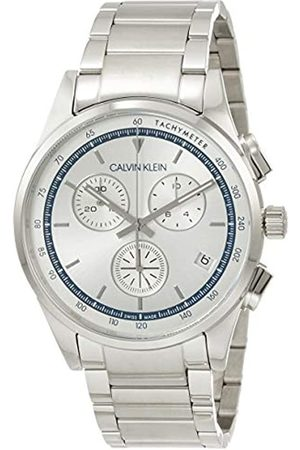 Calvin Klein Reloj Analógico para Hombre de Cuarzo con Correa en Acero Inoxidable KAM27146