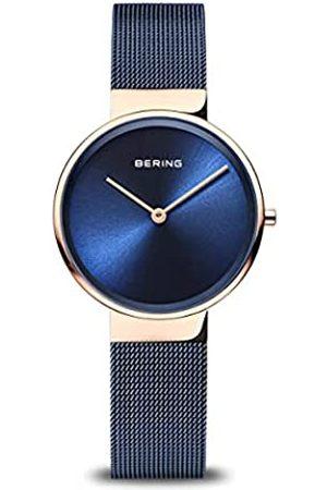 Bering Reloj Analógico Classic Collection para Mujer de Cuarzo con Correa en Acero Inoxidable y Cristal de Zafiro 14531-367