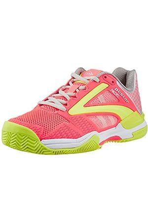 Dunlop D PFW Extreme Padel Womens Size UK6.5 /EU40, Tennis Shoe Mujer, Coral-Fluor