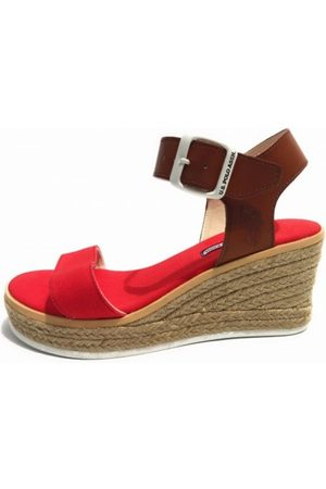 US Polo Scarpe Zeppa Niva Suede Canvas TC 70 PL 20 Ds 17Up 07 , Mujer, Talla: 41