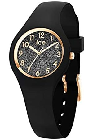 Ice-Watch ICE Glitter Black Numbers - Reloj para Mujer con Correa de Silicona