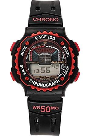 Digi-Tech Reloj Digital para Hombre de Cuarzo con Correa en Caucho DT102908