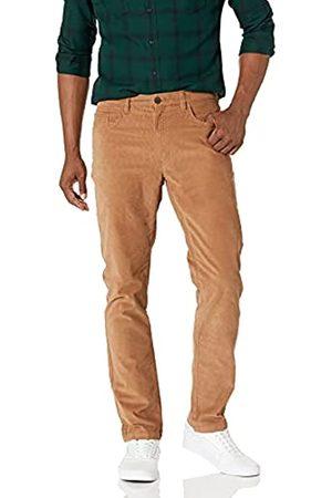 Goodthreads Marca Amazon - : pantalones pitillo de pana elásticos con 5 bolsillos para hombre