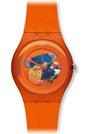 Swatch SUOO100 - Reloj analógico de Cuarzo Unisex con Correa de plástico