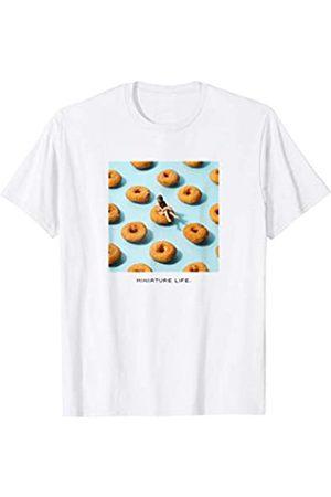 MINIATURE LIFE Hombre Anillos - Swim Ring Camiseta
