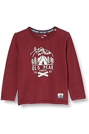 Noppies B T-Shirt LS Elliot Camiseta, Dusty Red-P597