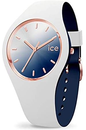 Ice-Watch ICE Duo Chic White Marine - Reloj para Mujer con Correa de Silicona