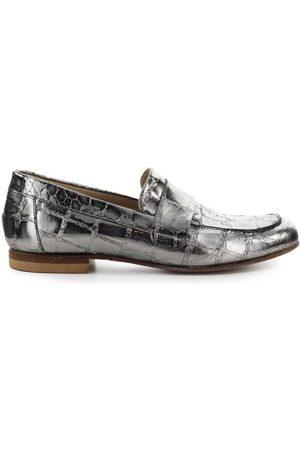 Strategia Crocodile Print Steel Loafers , Mujer, Talla: 39