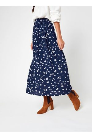 Knowledge Cotton Apparal Mujer Estampadas - ORCHID Lenzing™ EcoVero™ Flower Print Midi Skirt