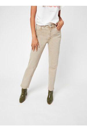 Knowledge Cotton Apparal Mujer Pantalones slim y skinny - STELLA Natural dye Tapered Twill Pants - GOTS/Vegan
