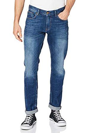 Tommy Hilfiger Hombre Slim Bleecker Str Algood Blue Pantalones
