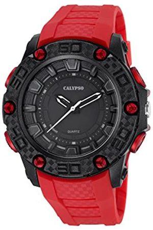 Calypso Reloj Digital para Hombre de Cuarzo con Correa en Caucho K5699_2