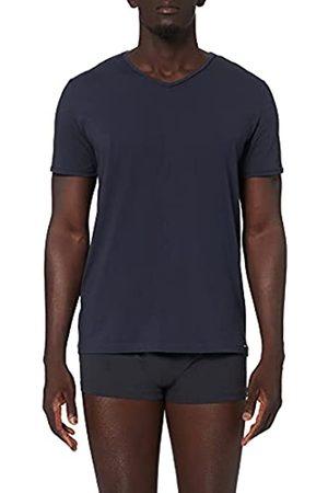 Skiny Herren V-Shirt Kurzarm Every Night In Mix & Match Baumwolle Top de Pijama