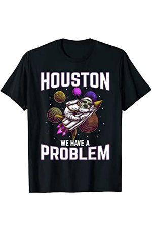 astronaut apparel & space sloth tees for boys Houston tenemos un problema astonaut pijamas astronauta perezoso Camiseta