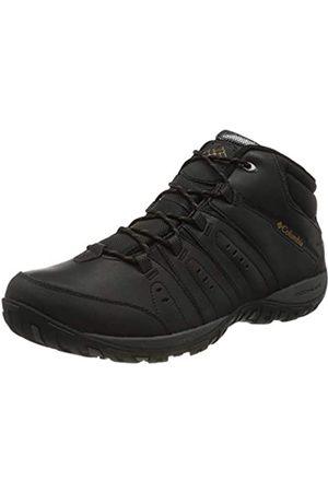 Columbia Woodburn II Chukka Waterproof Omni-Heat, Zapatos Hombre, (Black, Goldenrod)