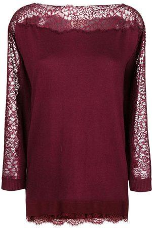 Twinset Sweater Morado, Mujer, Talla: S