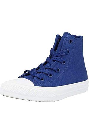 Converse CTAS II Hi, Sneakers Niñas, (Sodalite Blue/White/Navy)