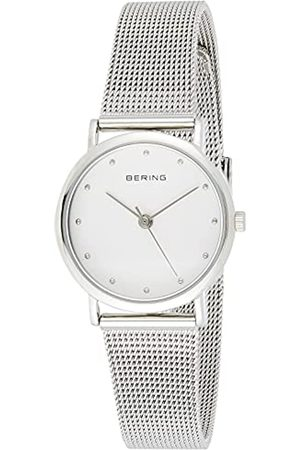 Bering Reloj Analógico Classic Collection para Mujer de Cuarzo con Correa en Acero Inoxidable y Cristal de Zafiro 13426-000