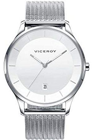 Viceroy 42299-07-RelojHombreAceroEsferaBlanca