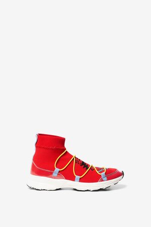 Desigual Zapatilla de calcetín print navajo