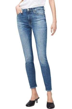7 For All Mankind Jeans Skinny Slim , Mujer, Talla: W25