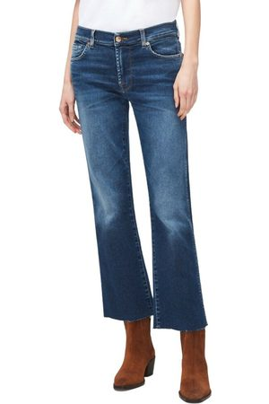 7 For All Mankind Mujer Botines - Jeans Ankle Boot Slim , Mujer, Talla: W28