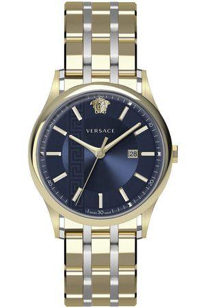 VERSACE Reloj analógico VE4A00720, Quartz, 44mm, 5ATM para hombre