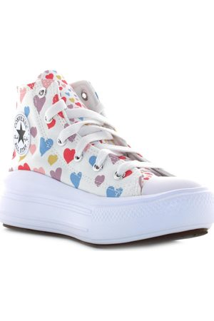 Converse Zapatillas altas 371590C para niña
