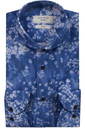 Profuomo Slim fit shirt , unisex, Talla: 39