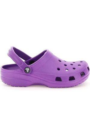 Crocs Mujer Chanclas - Slipper classic sabot unisex Morado, Mujer, Talla: UK 6