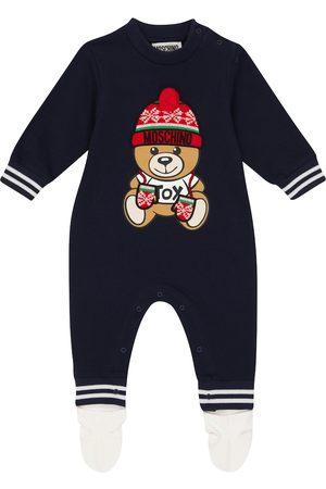 Moschino Kids Bebé - body Teddy de algodón elástico