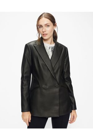 Ted Baker Faux Leather Blazer