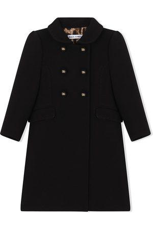 Dolce & Gabbana Niña Abrigos largos - Abrigo con doble botonadura