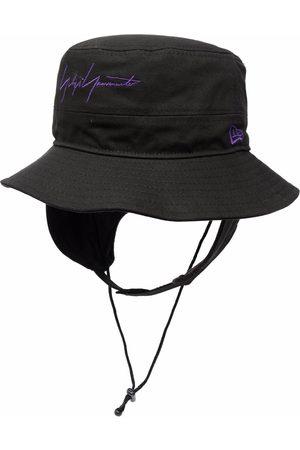 YOHJI YAMAMOTO Hombre Sombreros - Sombrero de verano con logo bordado