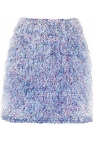 Dolce & Gabbana Mujer Acampanadas - Falda acampanada con acabado texturizado